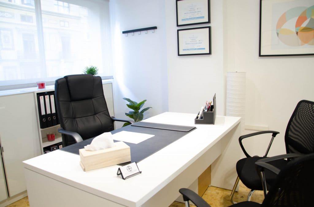clinica de psicologia en valencia - Despacho