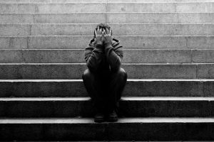 psicologa para la depresión en Valencia - escaleras