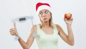 como no engordar en Navidad - báscula