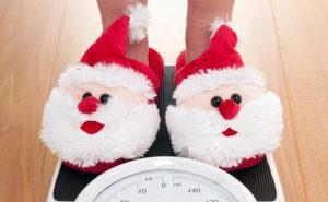 como no engordar en Navidad - zapatillas de papa noel