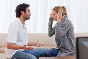 terapia para parejas en Valencia - pelea de pareja