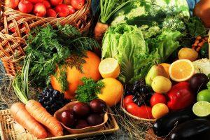 dieta vegetariana - verduras de la huerta