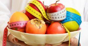 trastornos alimenticios en adolescentes en Valencia - fruta con metro