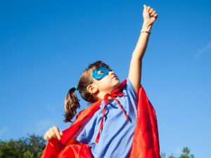 autoestima en niños en Valecia - superheroina
