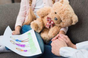 clinica de psicologia infantil en valencia - peluche