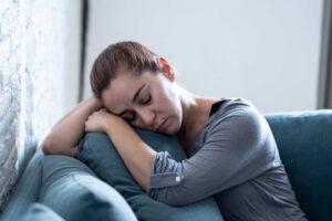 tratamiento para la depresión en Valencia - dormida